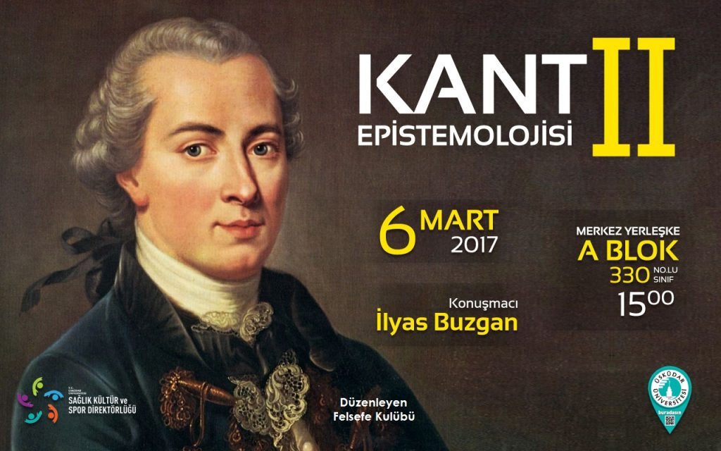 Kant Epistemolojisi - Revize 3