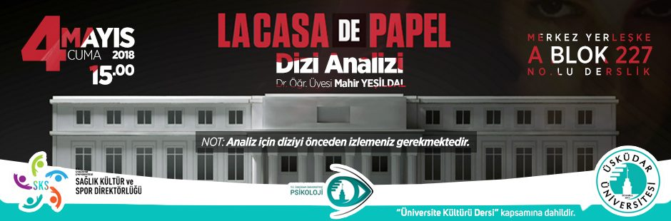 Dizi Analizi: La Casa De Papel