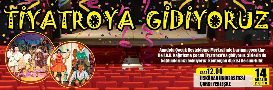 Tiyatroya Gidiyoruz - Banner